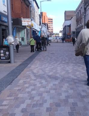 Cllr Kate Butler updates on Town Centre transport progress